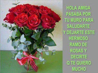 imagenes de rosas con frases de amistad gratis