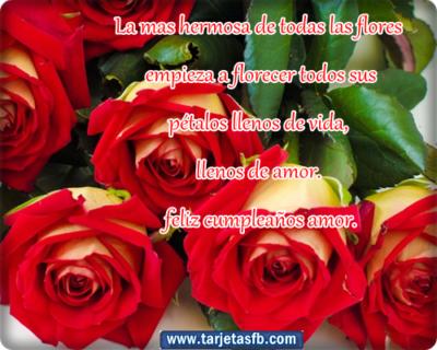 Postales De Flores Hermosas cumpleaños