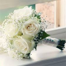 fotos de flores blancas ramos
