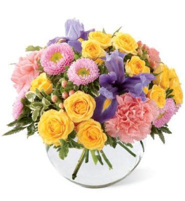 fotos de ramos de flores rosas