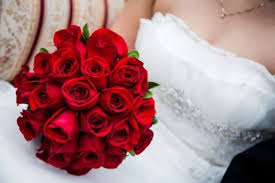 fotos de ramos de rosas rojas para novias