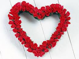 imagenes de corazones con rosas de amor