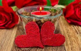 imagenes de corazones con rosas romanticas