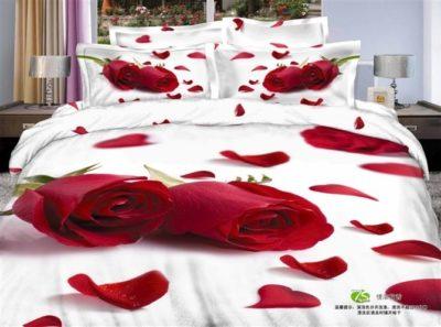 imagenes de flores hermosas en 3d lecho de cama
