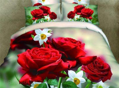 imagenes de flores hermosas en 3d rosas rojas