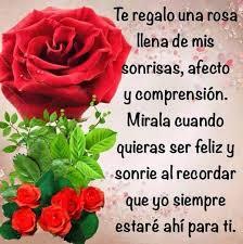 rosas con frases de amistad para un amigo