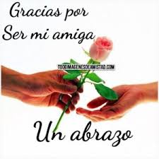 rosas con frases de amistad para una amiga