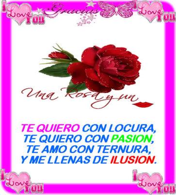 rosas hermosas con frases de amor facebook