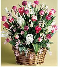 Flores para las madres de aniversario