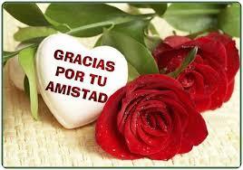 dibujos de corazones con rosas  de amistad