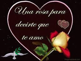 dibujos de corazones con rosas romanticas