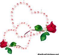 dibujos de corazones con rosas