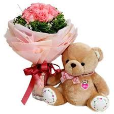 imagenes con rosas y osos