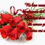 Imágenes De Ramos De Rosas Con Frases De Amor Para Dedicar