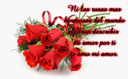 Imagenes De Ramos De Rosas Con Frases De Amor Para Dedicar