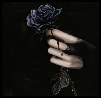 rosas-negras-goticas-con-sangre