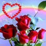 Imágenes De Rosas Bonitas  Con Frases Románticas De Amor