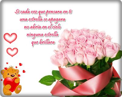 Imágenes de rosas con frases de amor para descargar