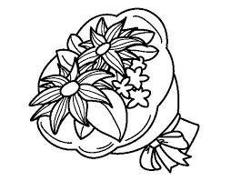 ramo de flores para pintar