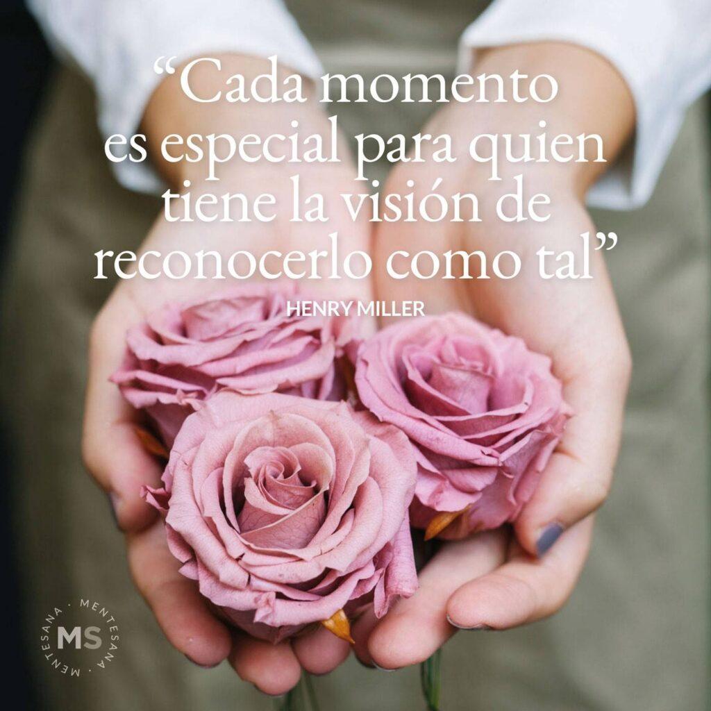Cada momento es especial