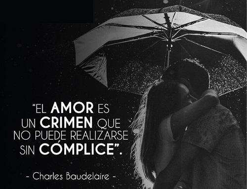 El amor es un crimen con cómplice